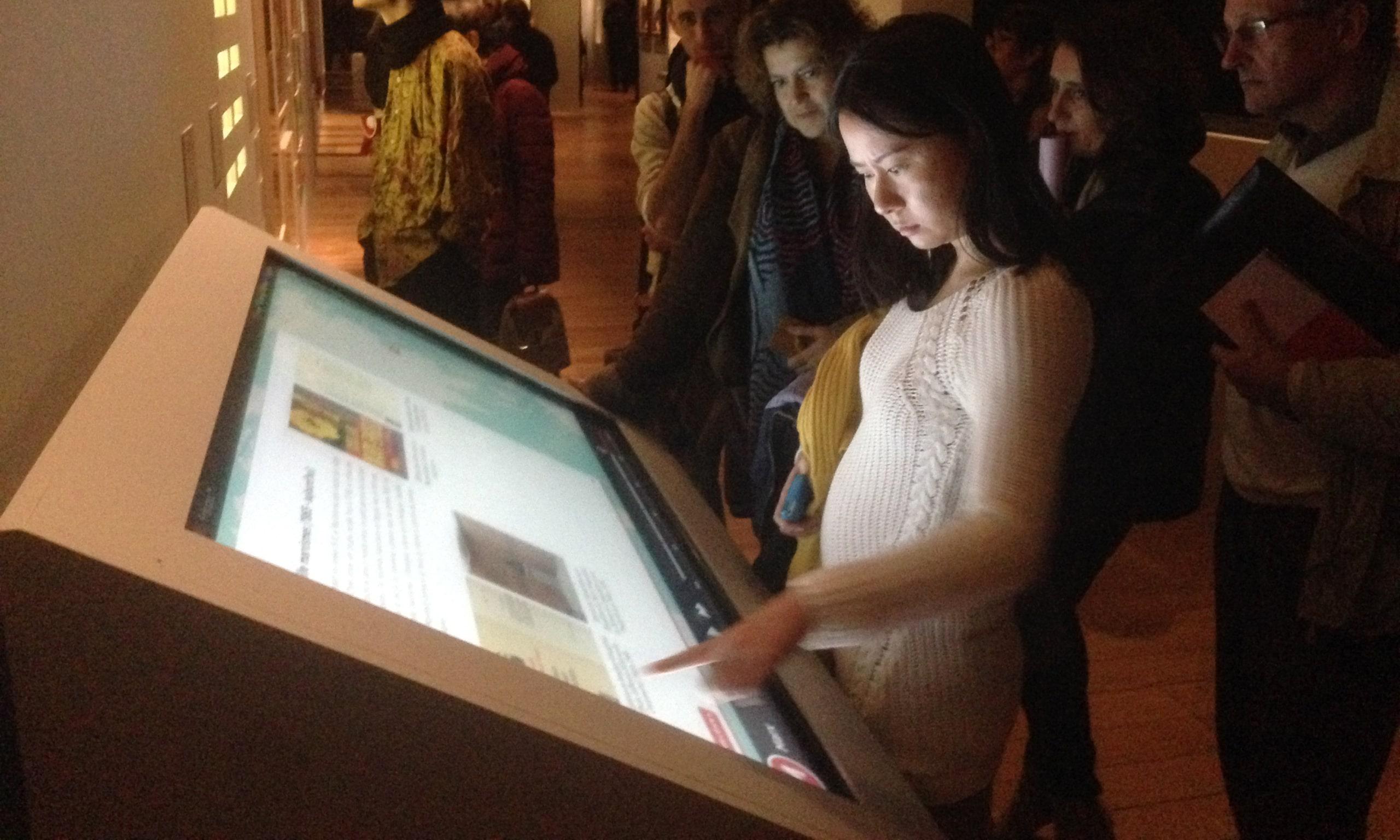 Dispositif interactif Les routes de la traduction au MuCEM