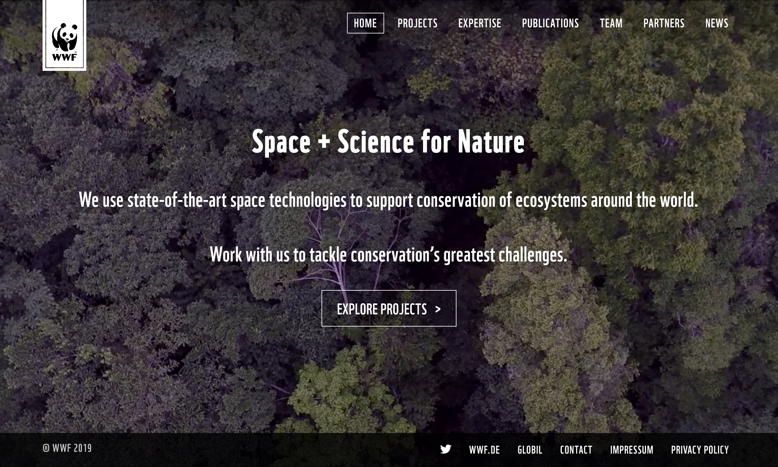 Site WWF Space + Science