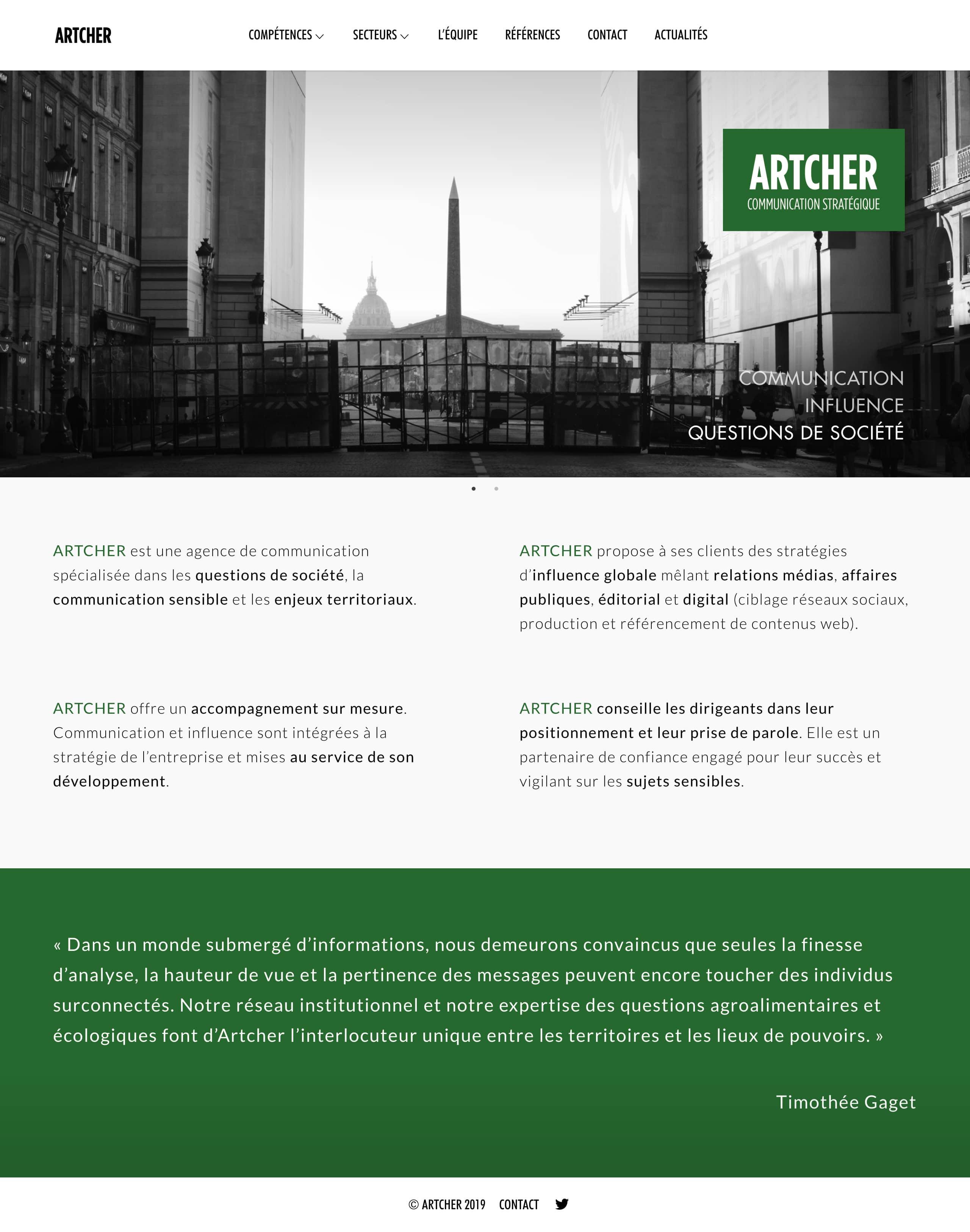 Site Artcher