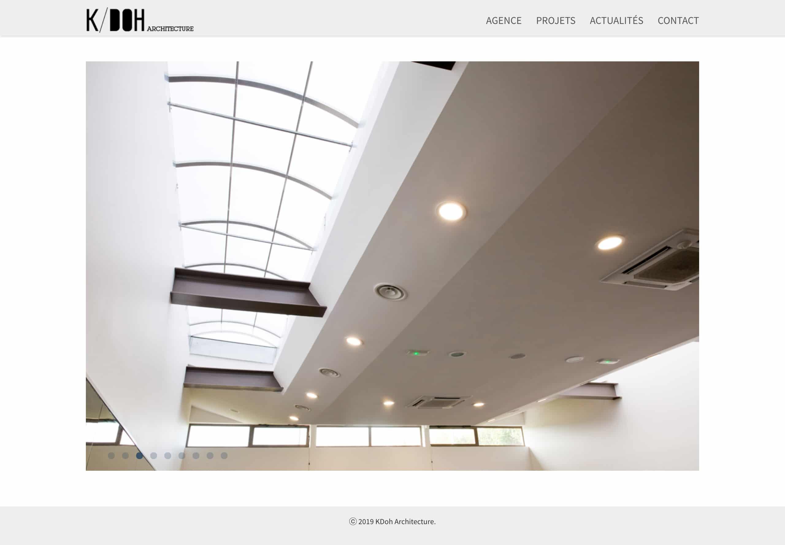 Site Kdoh Architectes